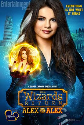 Превью постера «Возвращение волшебников: Алекс против Алекс»