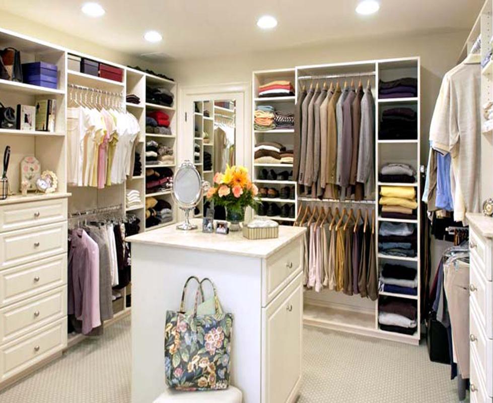 Идеи для гардеробных комнат