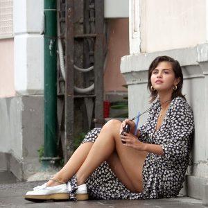 18 Июня Селена гуляет в городе Капри, Италия