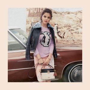 8 Августа @Coach на Твиттере: #SelenaGomez снимается в рекламе и носит вещи из ее новой коллекции #CoachxSelena
