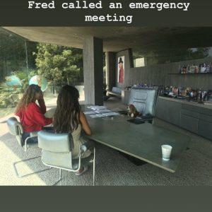 25 Августа Селена в истории Инстаграма Анны Коллинс