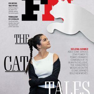 27 Августа Селена на обложке журнала Footwear Magazine