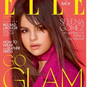 6 Сентября сканы из великобританского журнала Elle с Селеной на обложке