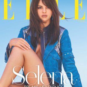 4 Сентября новая история Селены для обложки октябрьского журнала Elle