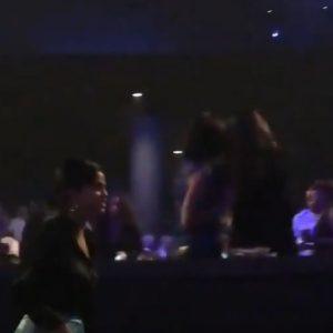 22 Сентября Селену заметили на концерте Джениффер Лопес