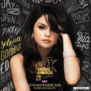 4 Октября голосуй за Селену в NRJ Music Awards