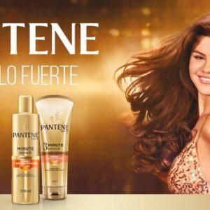 30 Января промо баннер рекламы Pаntene Латинская Америка