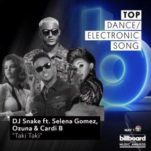4 Апреля песня «Taki Taki» номинирована в 2х категориях на Billboard Music Awards 2019