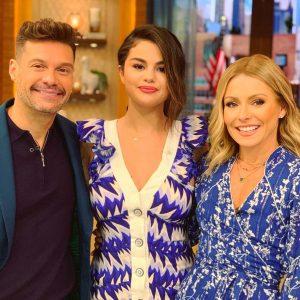 12 Июня Селена на утреннем шоу Live With Kelly And Ryan!
