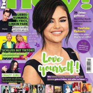 17 Июня Селена на обложке журнала Hey