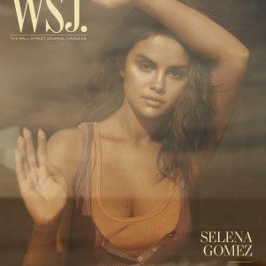 8 Января Селена на обложке журнала Wall Street Journal Magazine