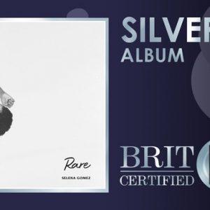 26 Июня альбом Rare получил серебряную сертификацию в Великобритании