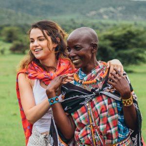 4 Сентября новые фото Селены с путешествия в Найроби, Кения в прошлом декабре