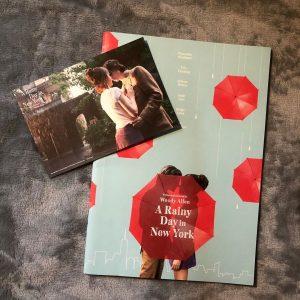 11 Ноября Японский буклет фильма «Дождливый день в Нью-Йорке»