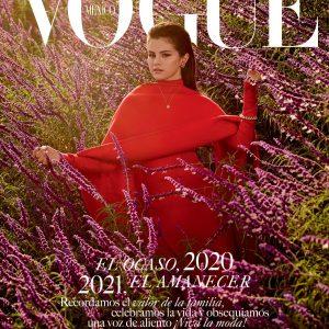30 Ноября Селена на обложке декабрьского номера журнала Vogue Mexico