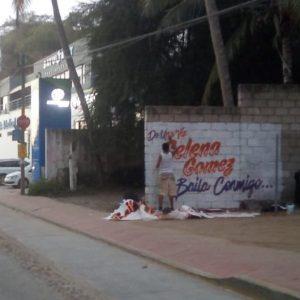 10 Января новое граффити с именем Селены замечено на улицах в Бразилии