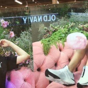 27 Января постер с новыми фото Селены замечены на витрине магазина Puma