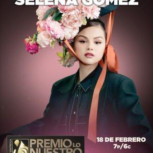 16 Февраля @premiolonuestro на Инстаграм: Всего через 2 дня мы увидим выступлениеСеленына#PremioLoNuestro ✨