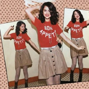 10 Февраля новый постер с Селеной из журнала Bravo от 2010 года