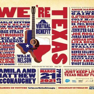 18 Марта Селена появится на мероприятии «We're Texas»