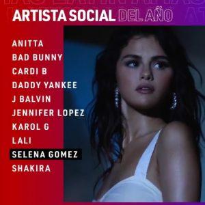 2 Марта голосуй за Селену в Latin AMA 2021!