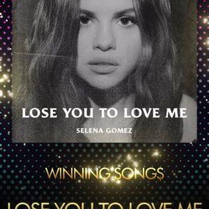 13 Апреля Lose You To Love Me выиграла награду на церемонии «ASCAP Pop Music Awards»