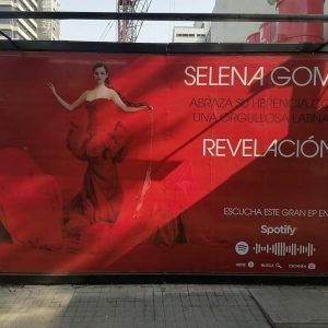 28 Апреля Рекламный щит Revelacion замечен в Мехико Сити