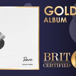 30 Апреля альбом Rare сертифицирован золотым в Великобритании
